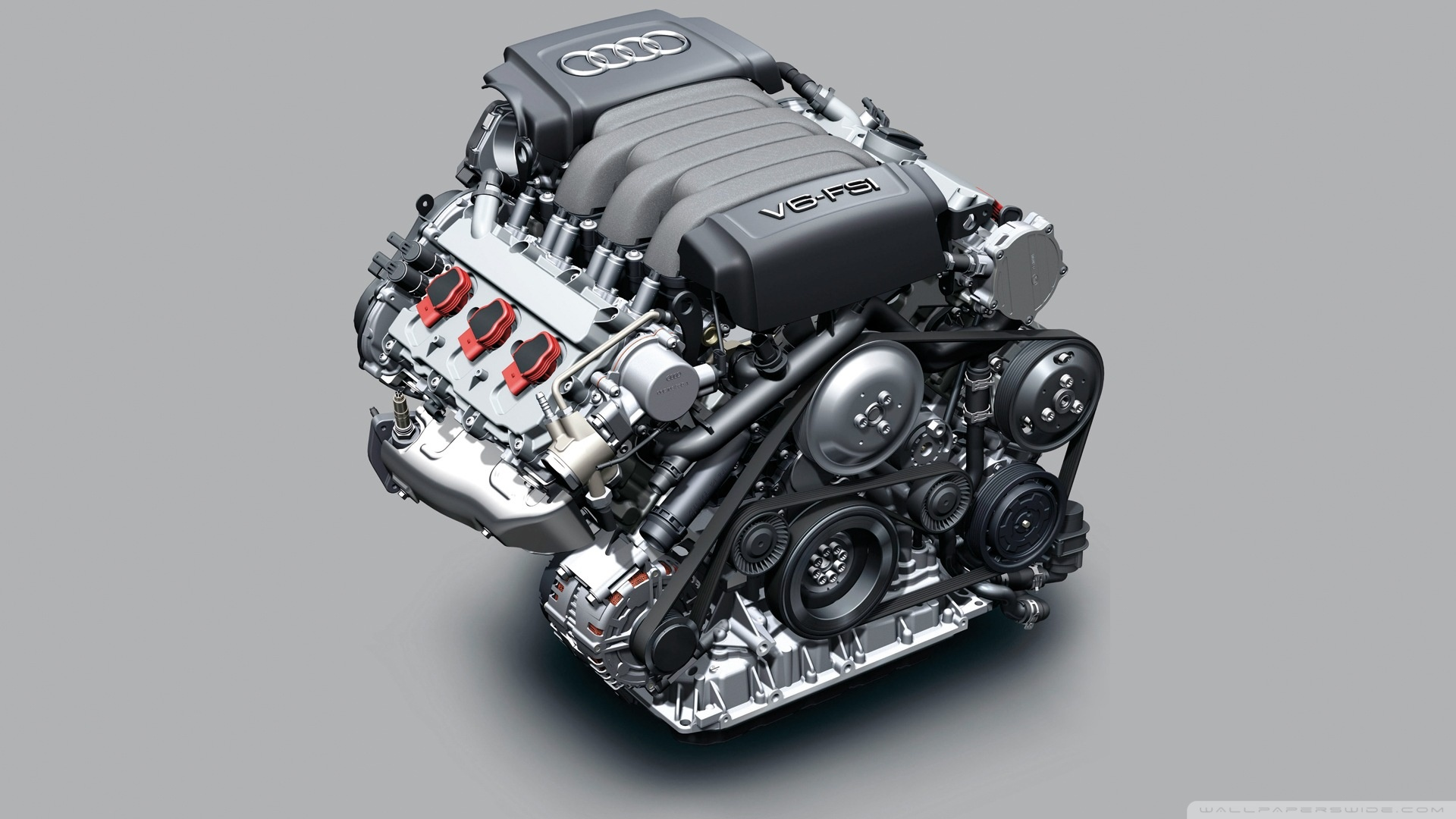 Picture of an Audi engine