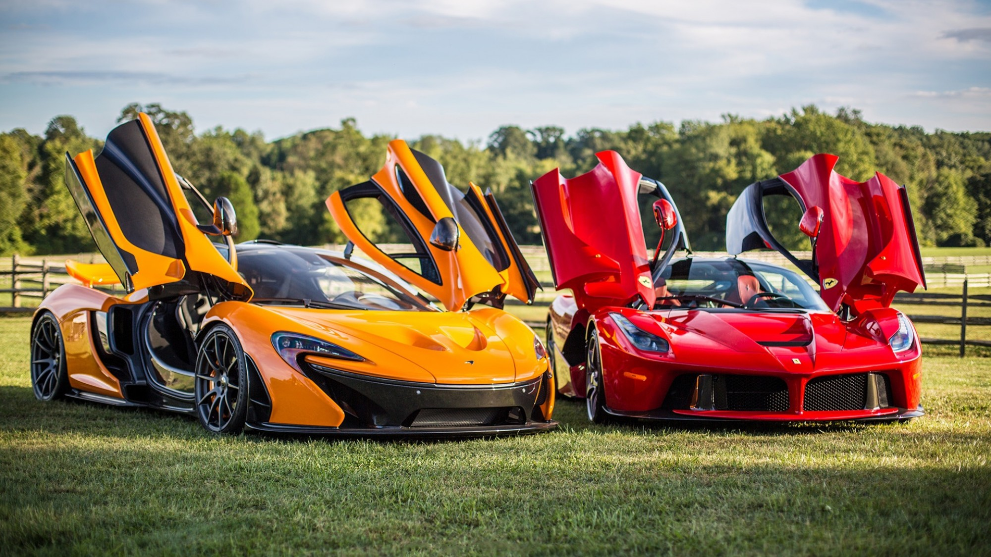 McLaren and Ferarri